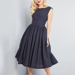 Modcloth Fabulous Fit and Flare Dress with Pockets
